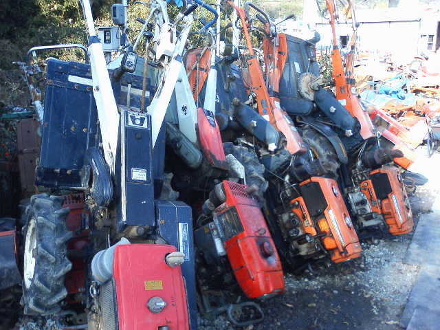 Used Hand Tillers
